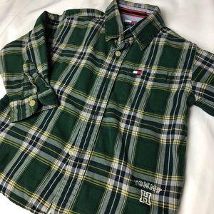 Tommy Hilfiger Boys Plaid Shirt (3T)